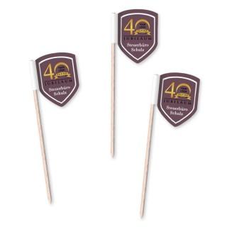 Wappen Minifahnen als Standard Partypicker (ab 100 Stück)