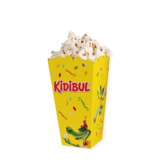 Popcornbecher Format S oder M mit Logo bedrucken in Digitaldruck (ab 100 Stück)