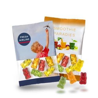Gummibärchen im 10g-Beutelchen als Werbegummibären bedrucken
