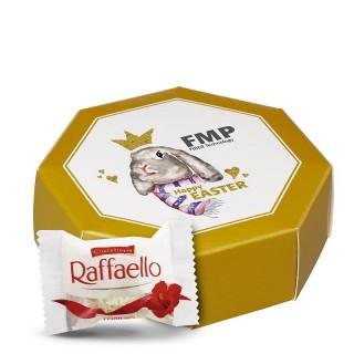 8-Eck Ferrero Raffaelo Geschenkbox bedrucken