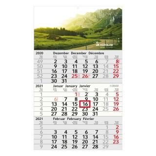 Recycling Kalender günstig bedrucken als Budget 3 Complete