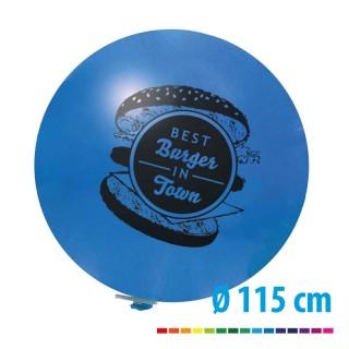Riesenballons 115 cm groß mit Ihrem individuellen Logo als Werbeaufdruck