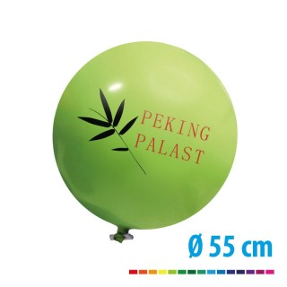 Riesenballon 55 cm mit Logo bedrucken