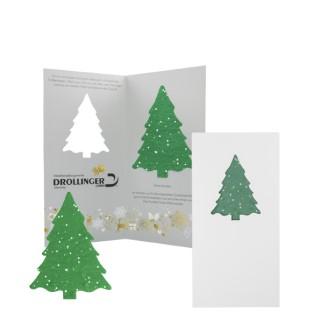 Samenpapier-Karte Fichte (ab 250 Stück)