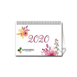 Tischkalender A6 Quer jeder Monat individuell (ab 10 Stück)