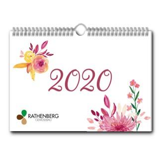 Wandkalender A3 Quer jeder Monat individuell (ab 10 Stück)