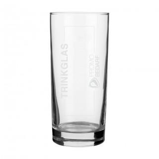 Trinkglas mit Lasergravur 0,3 l (ab 24 Stück)