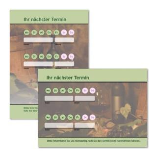 Terminzettel: Wein mit Logo als Terminblock A7, 50 Blatt (ab 50 Stück)
