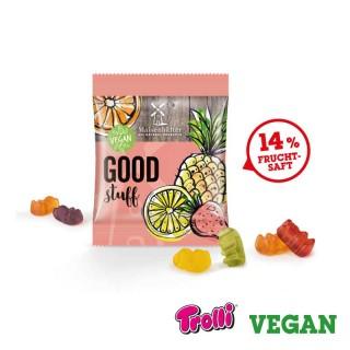 Vegane Gummibären bedrucken
