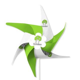Windmühlen 6 Flügel aus MC Papier mit Front-Rosette (ab 1.000 Stück)