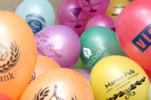Individuelle Luftballons bedrucken