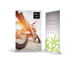 Roll Up Banner bedrucken