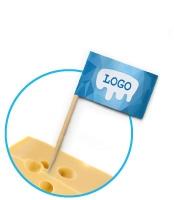 Zahnstocher Fähnchen bedrucken in Standardqualität Digitaldruck