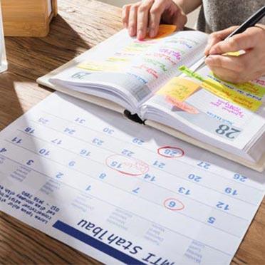 Kalender bedrucken